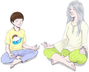 170127 Meditating Together